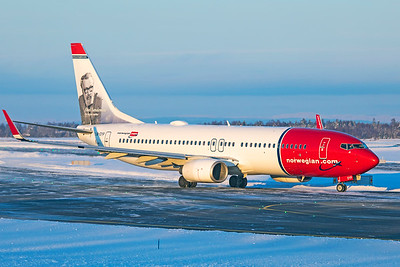 Norwegian Air Shuttle Boeing 737-8JP LN-DYP 2-3-19