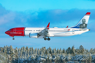 Norwegian Air International Boeing 737-8 MAX EI-FYI 2-3-19
