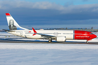 Norwegian Air International Boeing 737-8 MAX EI-FYC 2-3-19 4