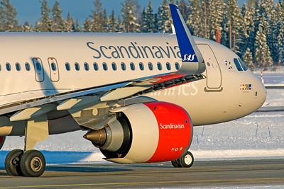 SAS Scandinavian Airlines Ireland Airbus A320-251N EI-SII 2-3-19 4