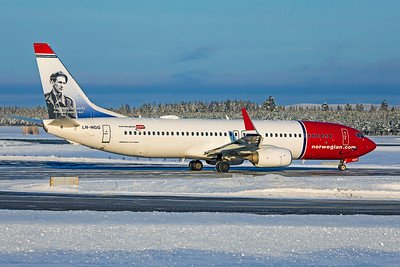 Norwegian Air Shuttle Boeing 737-8JP LN-NGG 2-3-19