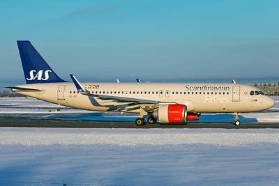 SAS Scandinavian Airlines Ireland Airbus A320-251N EI-SII 2-3-19 3