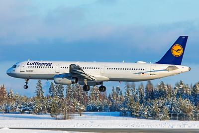Lufthansa Airbus A321-231 D-AISV 2-3-19