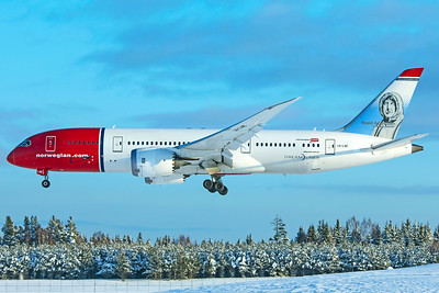 Norwegian Long Haul Boeing 787-8 Dreamliner LN-LNE 2-3-19