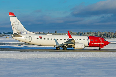 Norwegian Air Shuttle Boeing 737-8JP LN-DYN 2-3-19 3