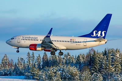 SAS Scandinavian Airlines Boeing 737-76N SE-RJT 2-3-19