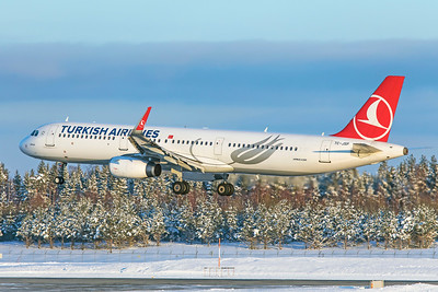 Turkish Airlines Airbus A321-231 TC-JSP 2-3-19