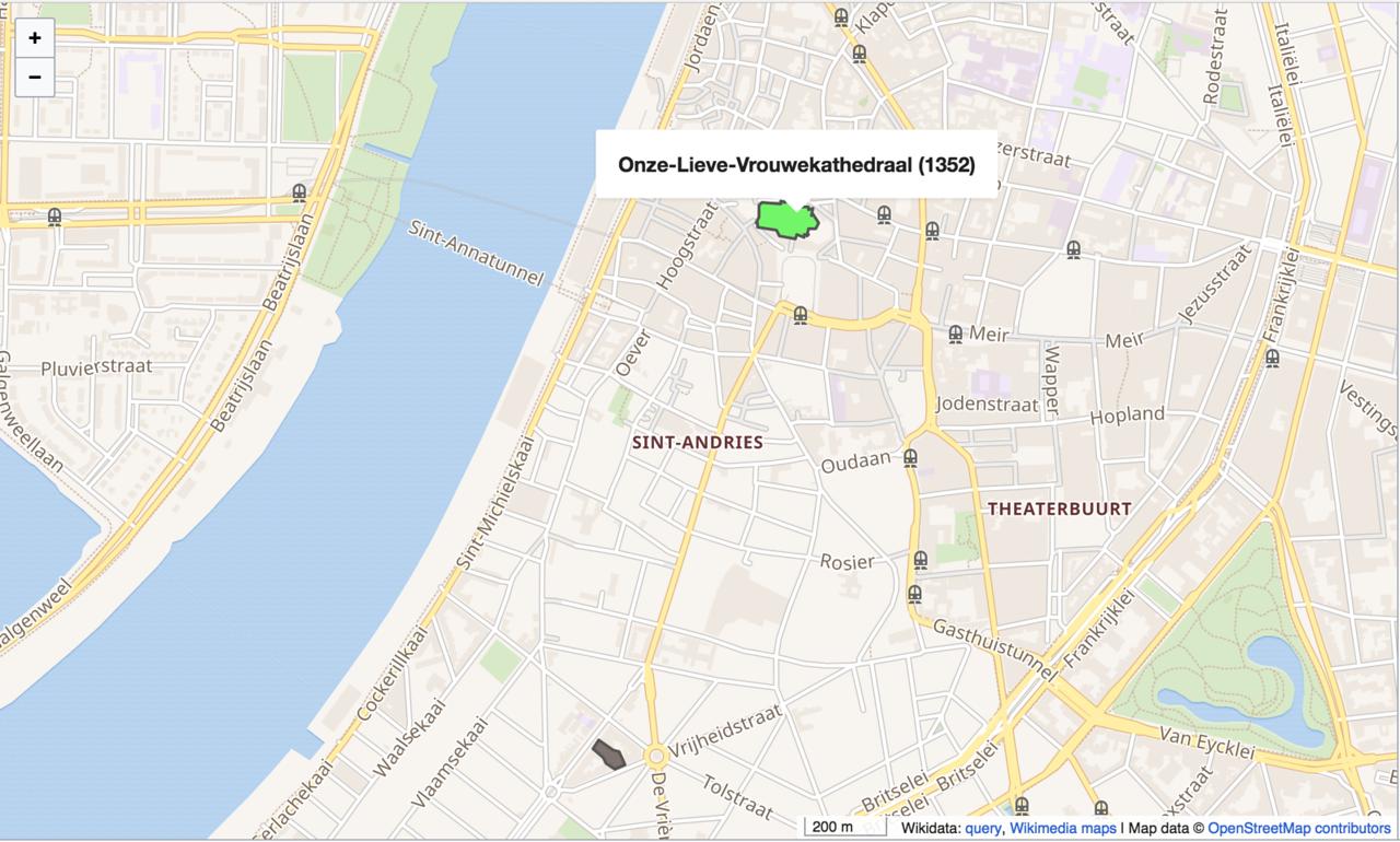 Wikidata and OpenStreetMap