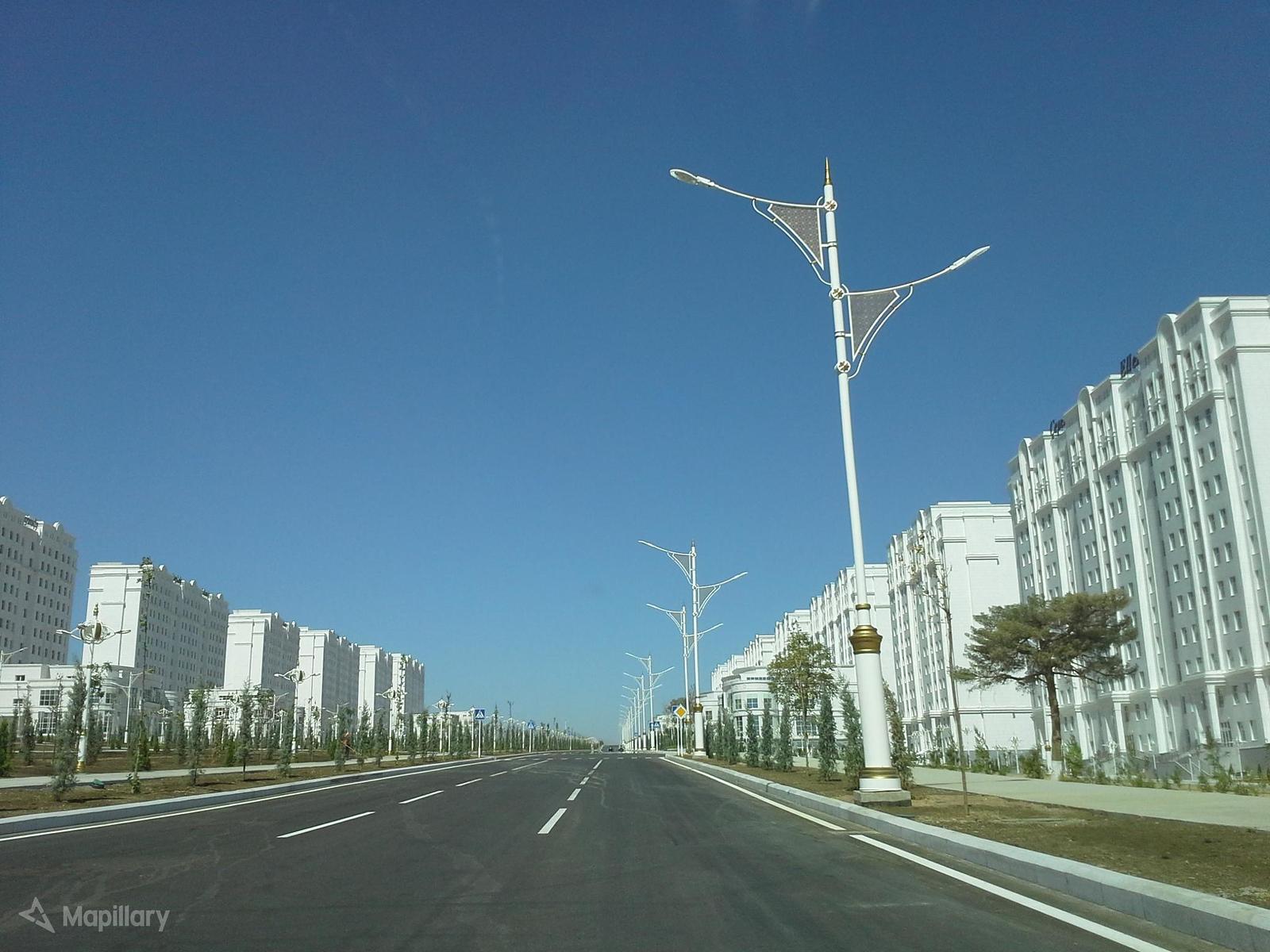 Downtown Ashgabat