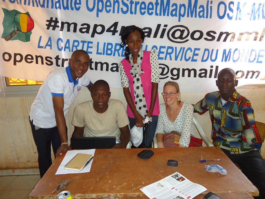 GisDay 2015 met OpenStreetMap Mali