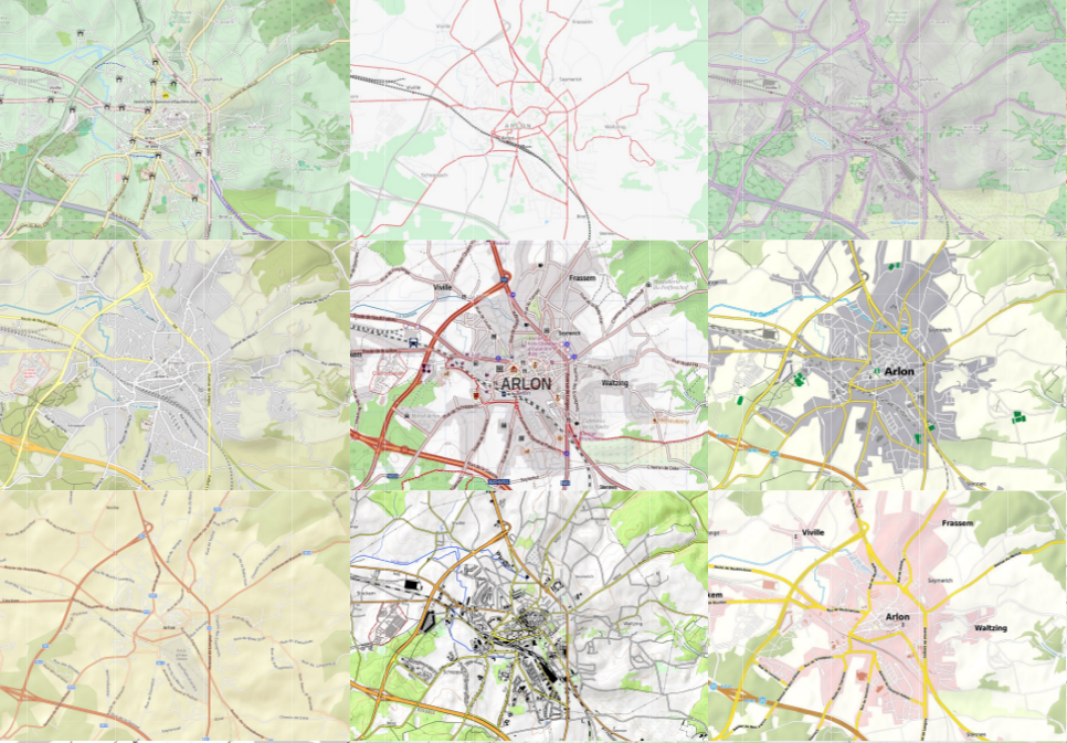 Maps of Arlon