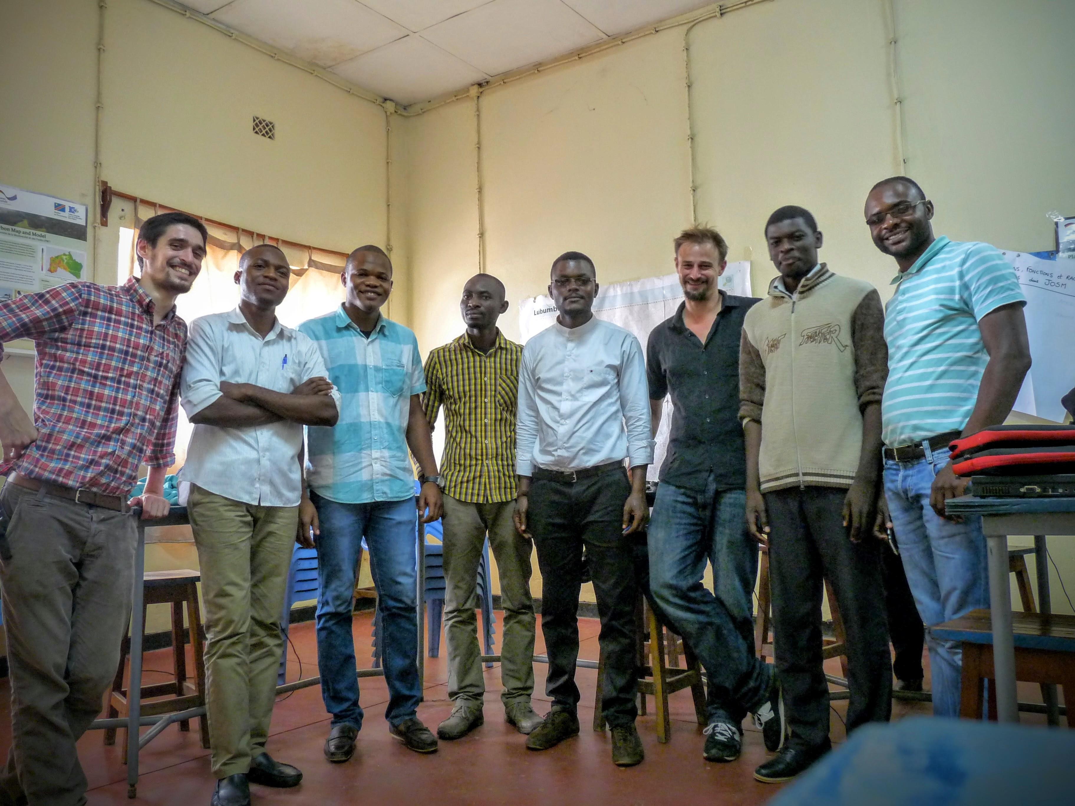 Uni of Lubumbashi guys in Congo