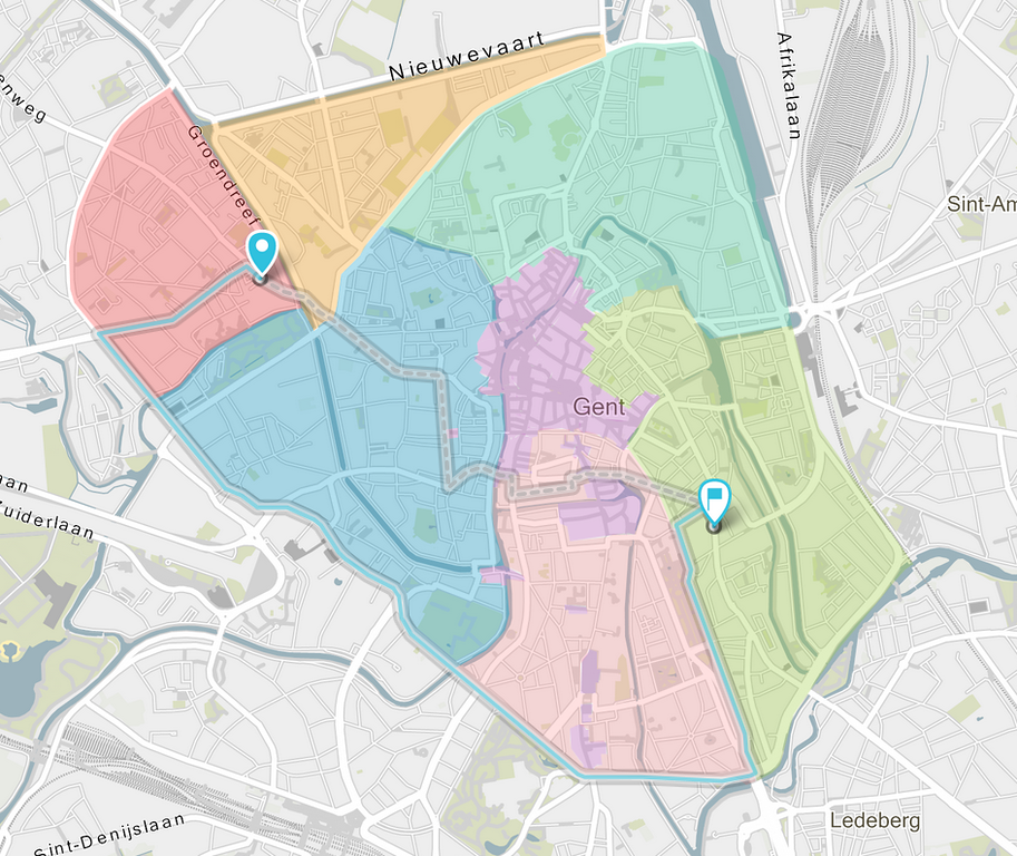 Circulatieplan Gent