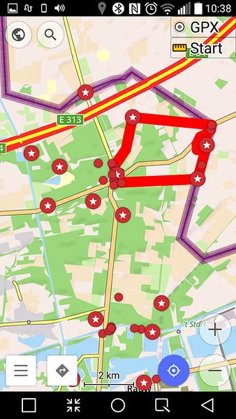 OsmAnd Map