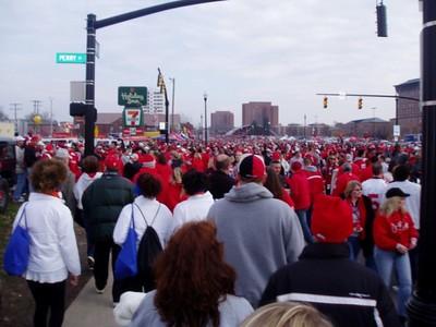 Getting crowded