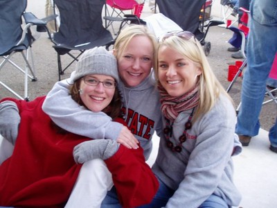 Leigh, Erin, and Shannon