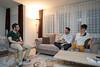 03.06.2017 - Zum Fastenbrechen hat die in Olten ansässige Familie Gökhan Karabas  Besucher zum gemeinsamen Essen eingeladen