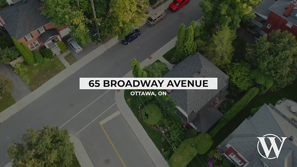 65 Broadway Avenue, Ottawa, ON branded exteriors only V1 AA