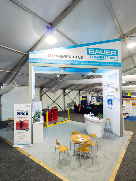 Bauer Compressors exhibits