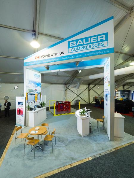 Bauer Compressors exhibits