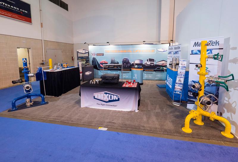 exhibitors Views of Exhibit Floor