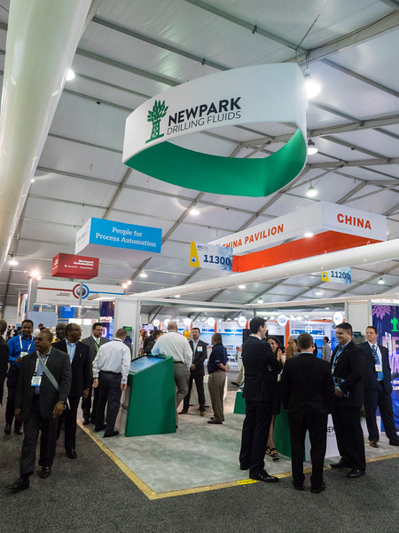 Newpark exhibits
