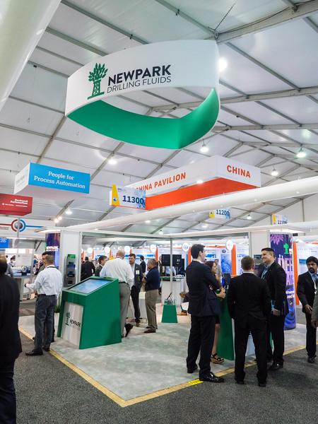 Newpark exhibits