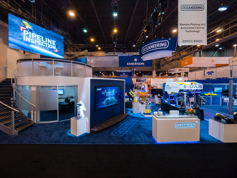 Oceaneering exhibits