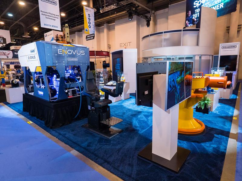 Oceaneering exhibits