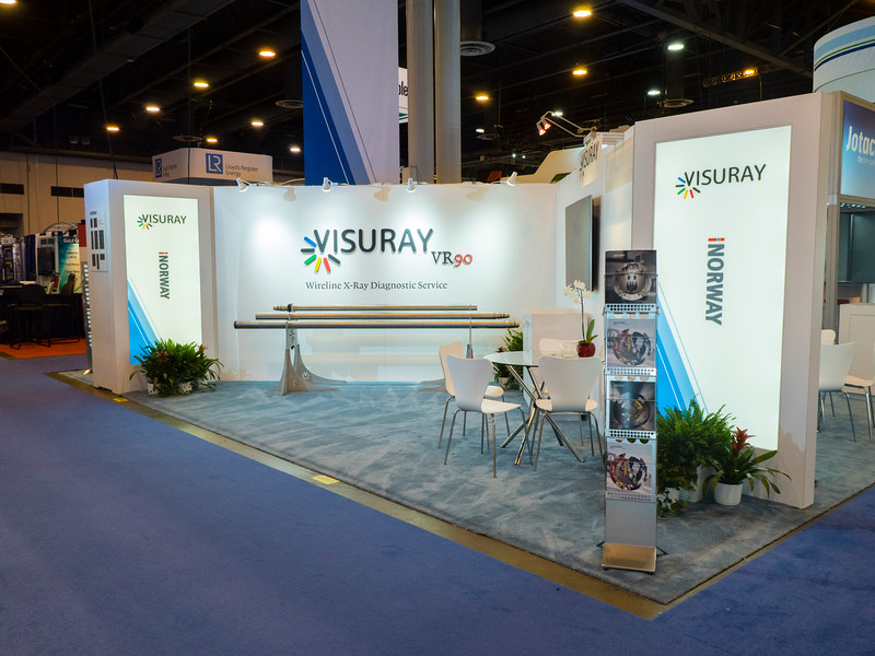 Visuray exhibits
