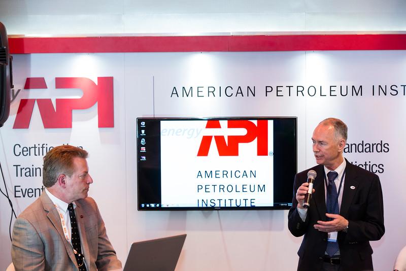 American Petroleum Institute speakers in Both 5009