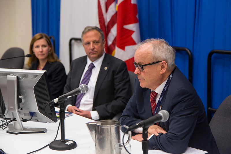 Canadian Government Press Conference