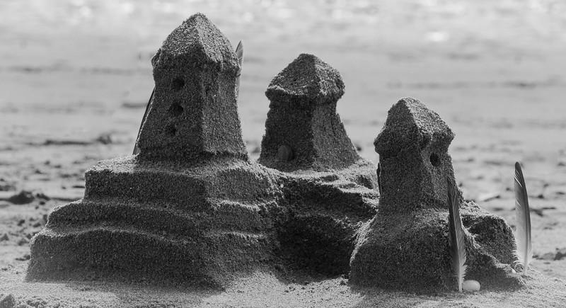 Sand Castle Popham Beach State Park Phippsburg Maine