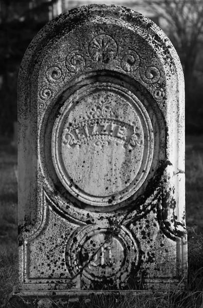 "tombstone, marble, ""Lizzie"" Friendship, Maine cemetery"