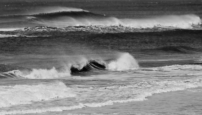 Blow Back On The Waves