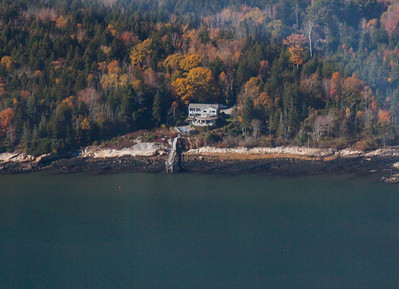 aerial views of Greyledge in late autumn