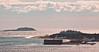 Fort Popham and Seguin Island from Wilbur Preserve, Phippsburg Land Trust Maine Cox's Head, Coxs Head, Wilbur Preserve,