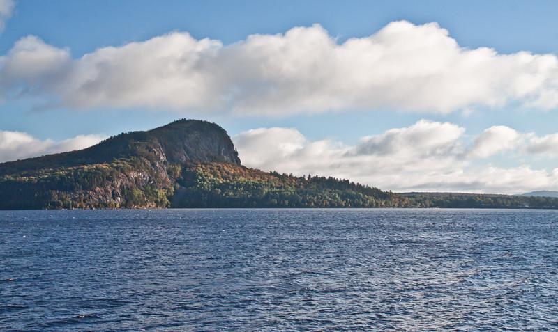 Mount Kineo, Moosehead Lake looking across from Rockwood, Maine, fall