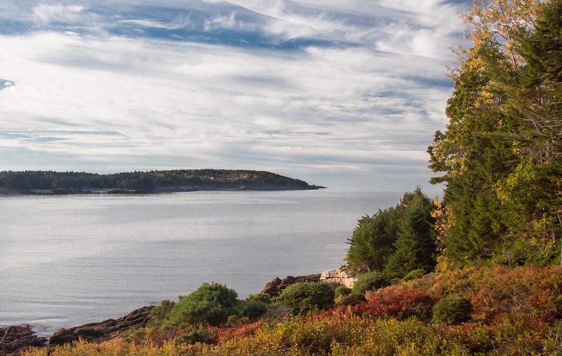 Cape Small, Hermit Island, Phippsburg Maine in October