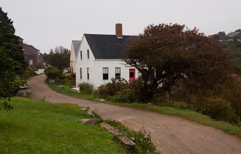 Meadow Road, Monhegan Island Maine