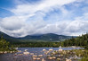Sandy Stream Pond, Baxter State Park, Millinocket, Maine mid July