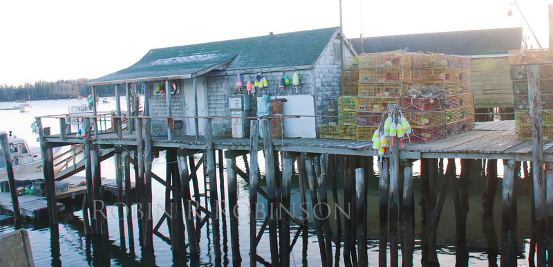 Maine scenic, classic coastal scenery, Friendship, Maine coastal village