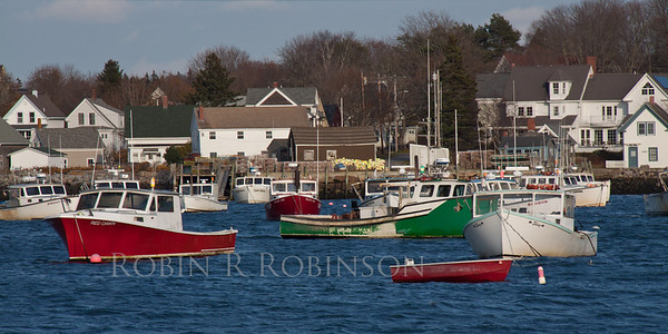 Carver Harbor lobster boats, Vinalhaven, Maine