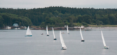 Regatta, Small Point Yacht club, Phippsburg Maine, Hermit Island, Marin Island, August 18, 2012