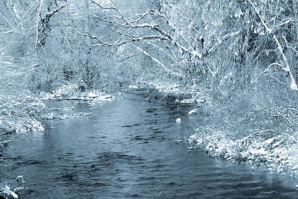 silver creek black and white