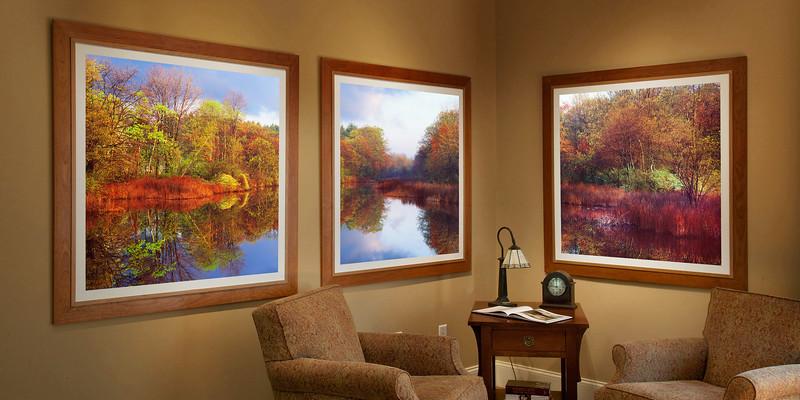 JW 0402 Triptych Family Room
