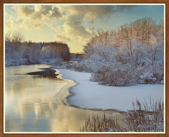 Peaceful Winter River