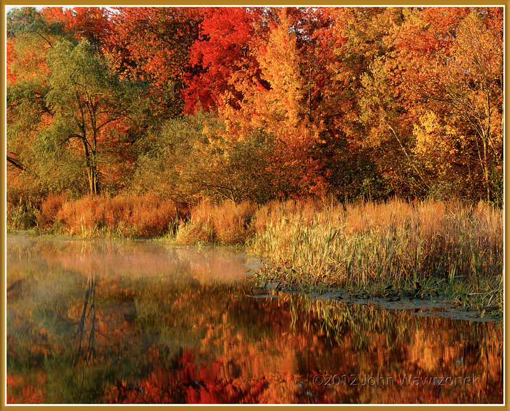 Sunrise At Beaver Brook
