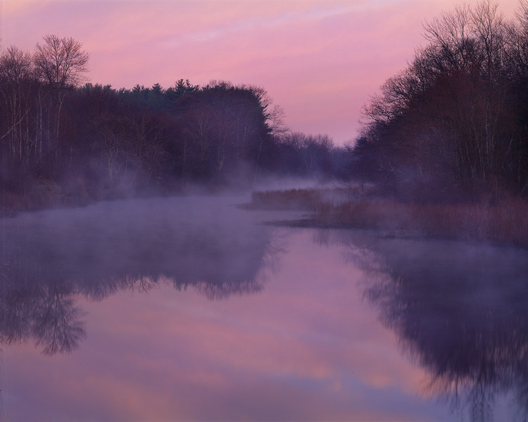 Sunset, Sudbury River