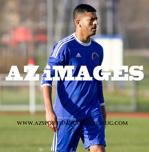 Sporting captain LINTON ZAMAN
